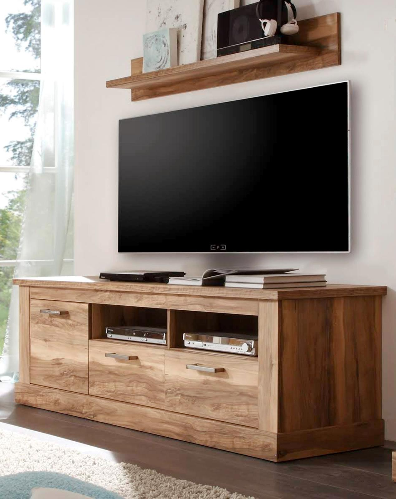 wandboard montreal in nussbaum satin 140 cm breit. Black Bedroom Furniture Sets. Home Design Ideas