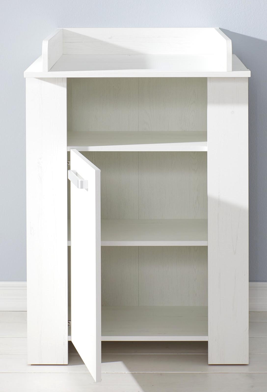 Babyzimmer Komplett Set Miri Pinie Weiß 3 6 Teilig Mit Kleiderschrank 104 Cm
