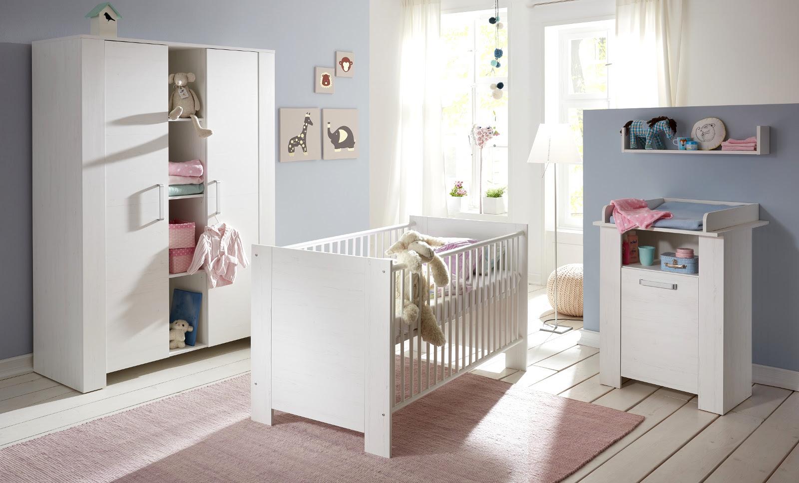 babyzimmer komplett set wei schlafzimmer pinie bett kleiderschrank kommode miri ebay. Black Bedroom Furniture Sets. Home Design Ideas