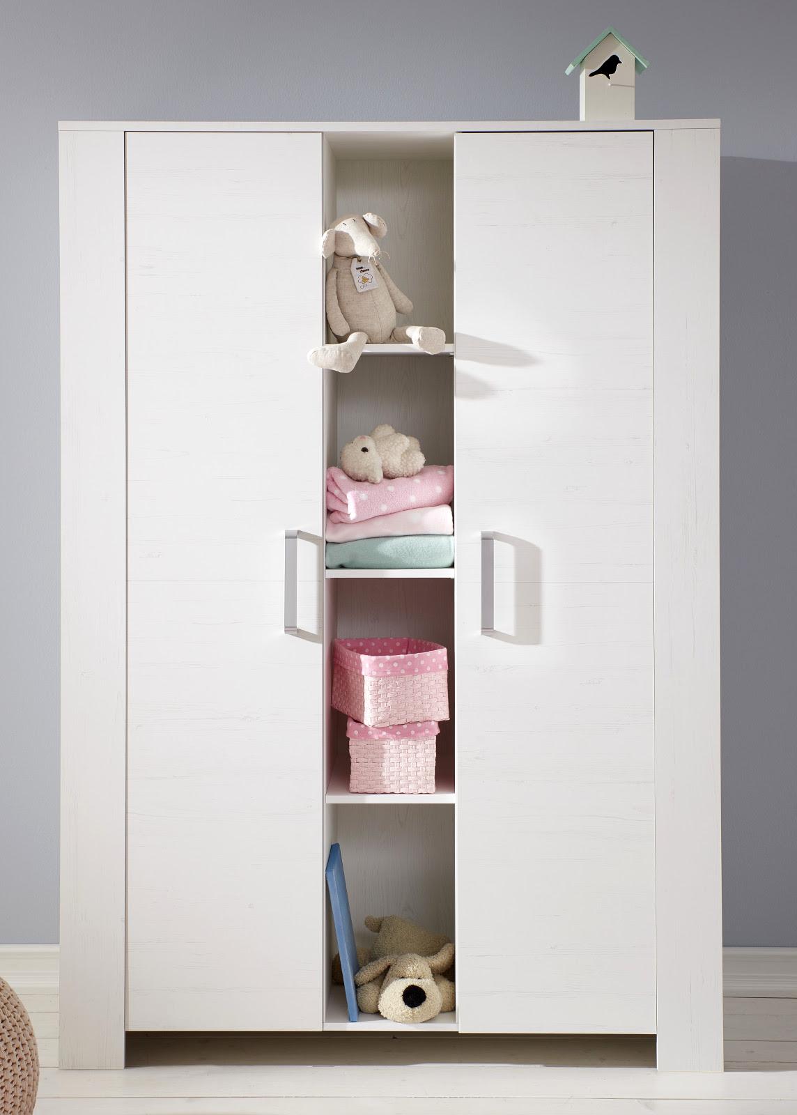 Wonderful Babyzimmer Komplett Set Miri Weiß Pinie 3   6 Teilig Mit Kleiderschrank 130  Cm Design Inspirations