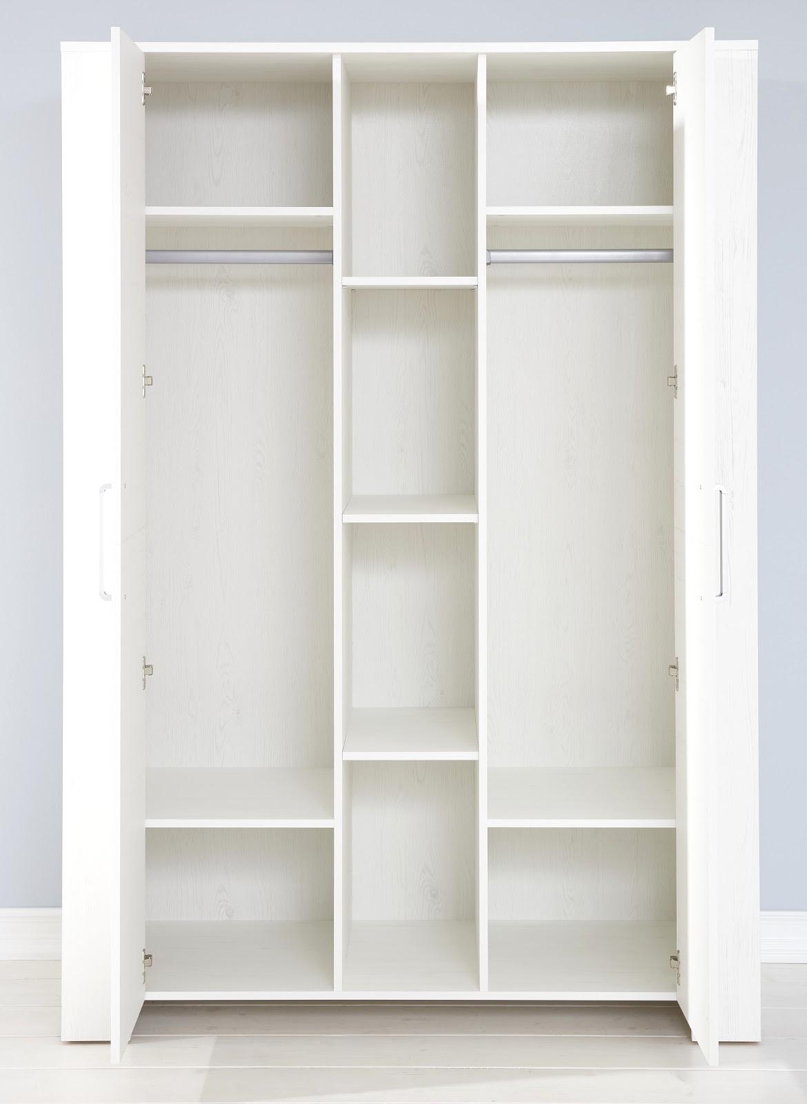 Babyzimmer Komplett Set Miri Weiß Pinie 3   6 Teilig Mit Kleiderschrank 130  Cm Nice Design