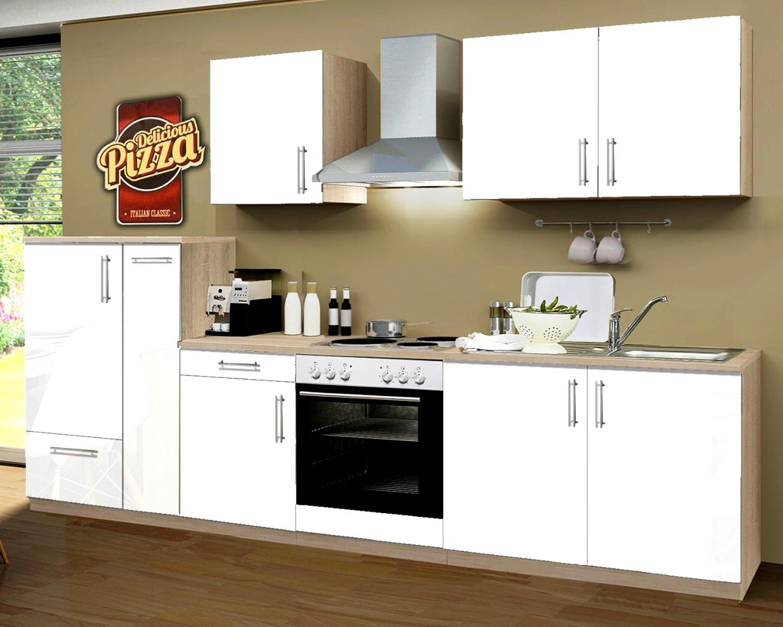 Erstaunlich Einbauküche Premium E-Geräte + Apothekerschrank YS11