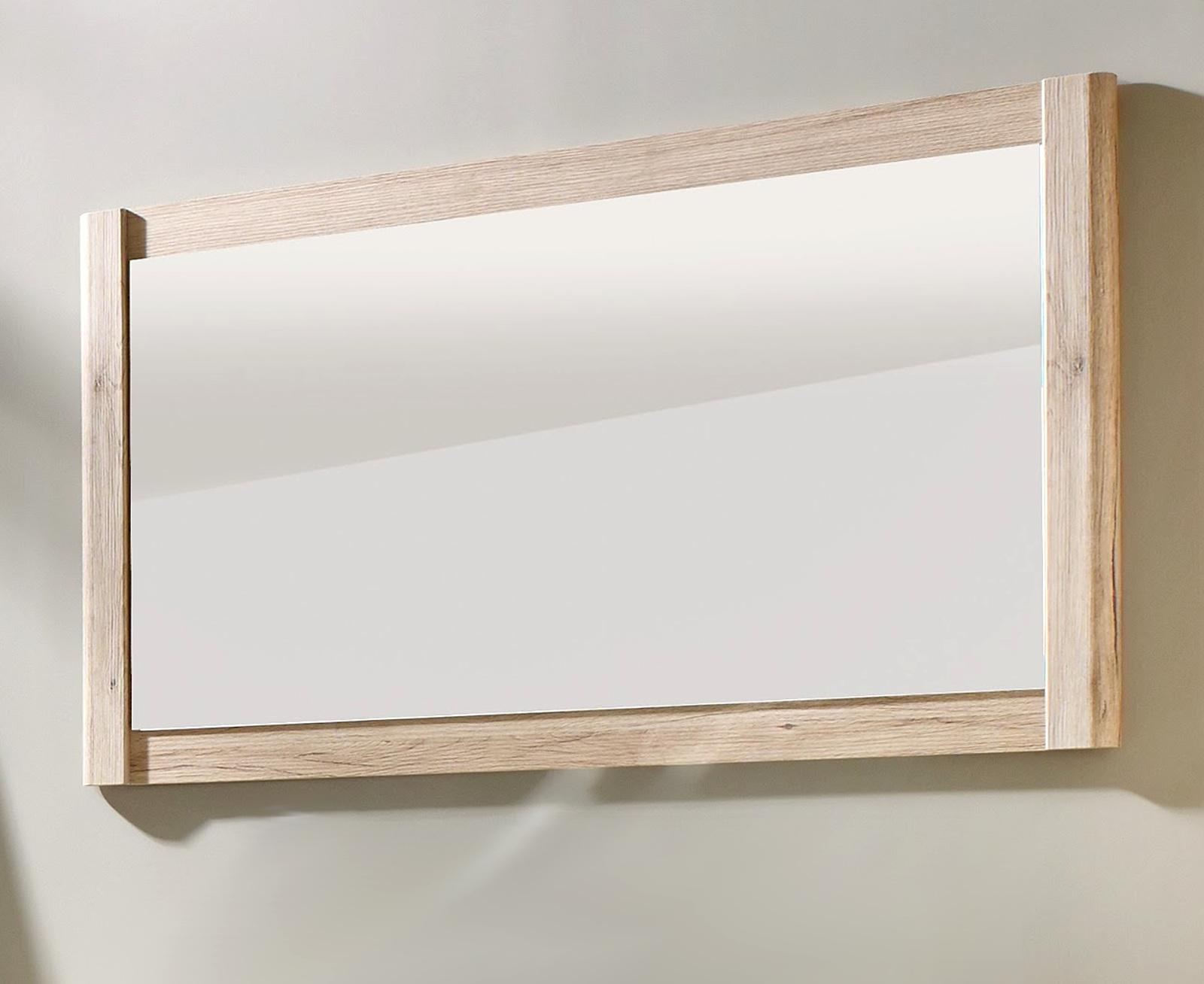 Spiegel Bestellen 7 : Badmöbel spiegel seven eiche sanremo hell