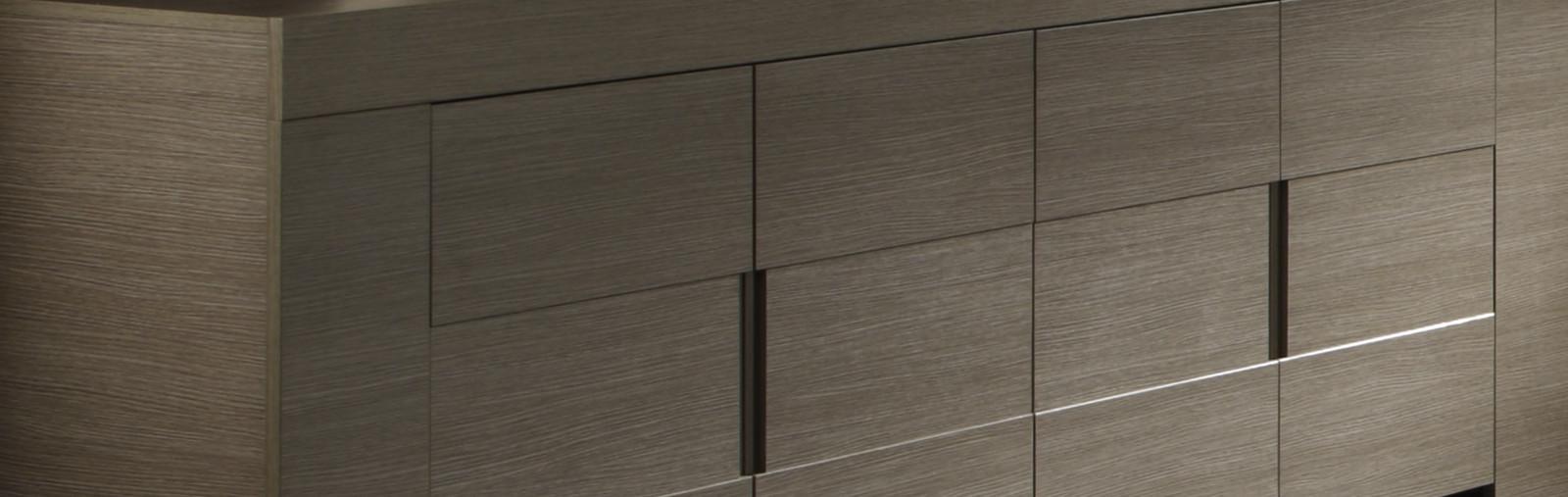 sideboard in eiche grau dekor italien vienda. Black Bedroom Furniture Sets. Home Design Ideas
