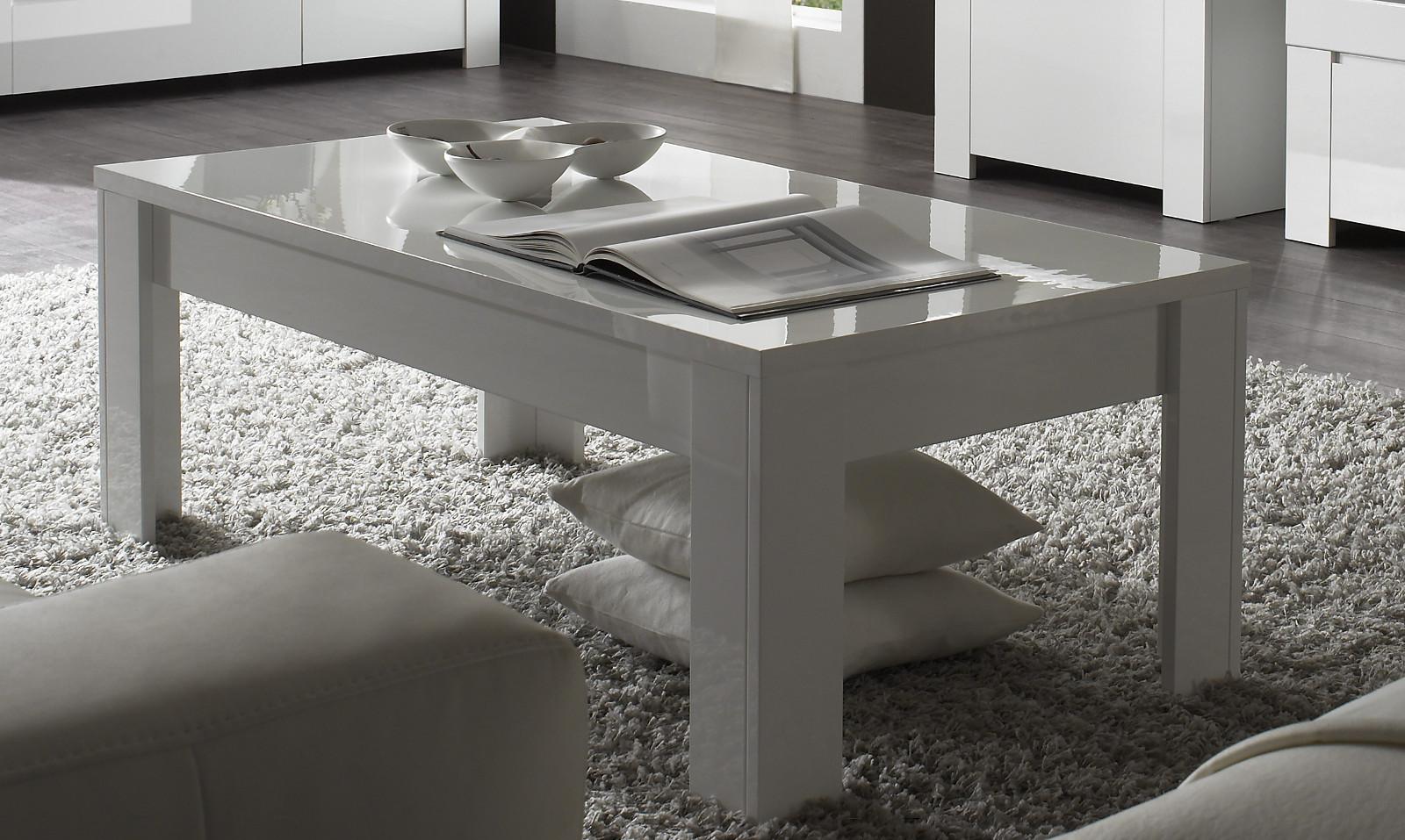 couchtisch in wei hochglanz lack italien vienda. Black Bedroom Furniture Sets. Home Design Ideas
