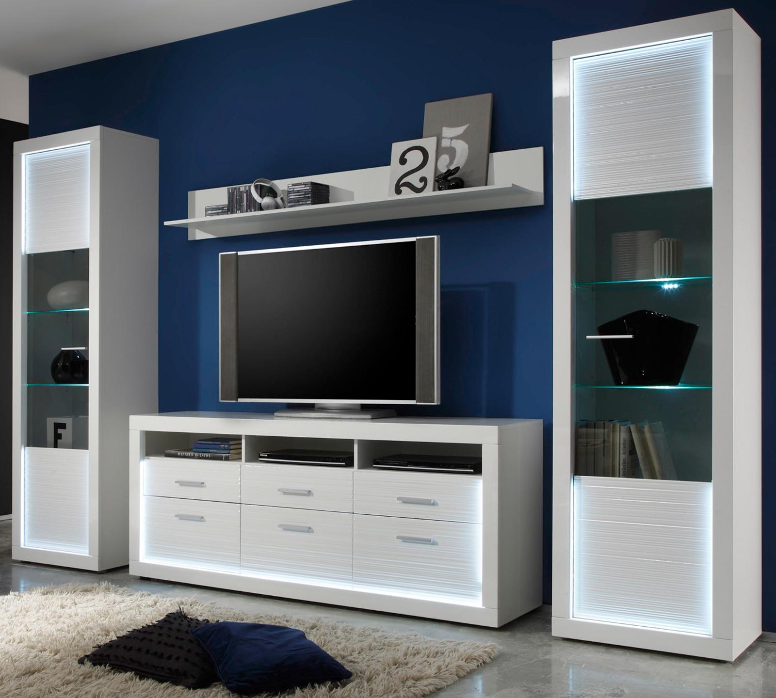 wandboard wandregal starlight in hochglanz wei. Black Bedroom Furniture Sets. Home Design Ideas