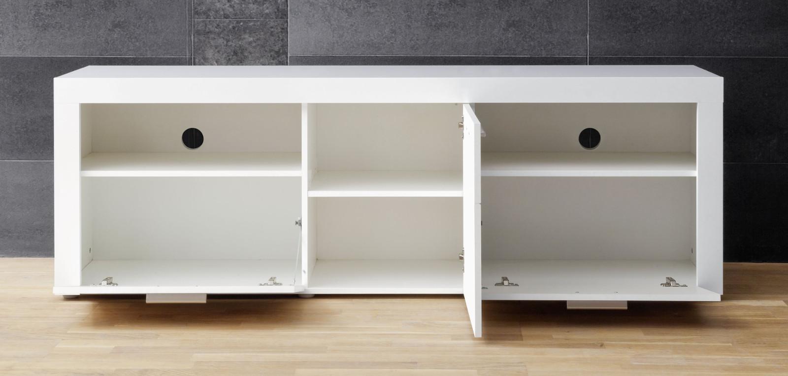 tv lowboard kito hochglanz wei 178 x 59 cm. Black Bedroom Furniture Sets. Home Design Ideas