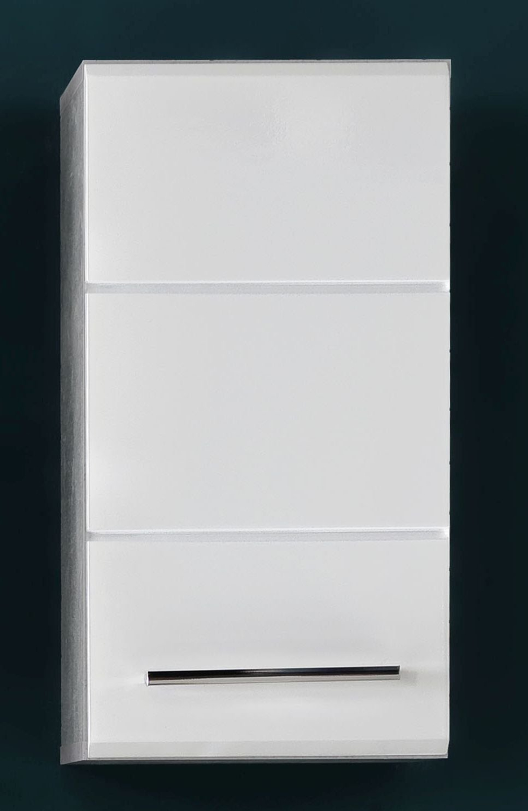 bad h ngeschrank nano wei hochglanz und stone grau. Black Bedroom Furniture Sets. Home Design Ideas