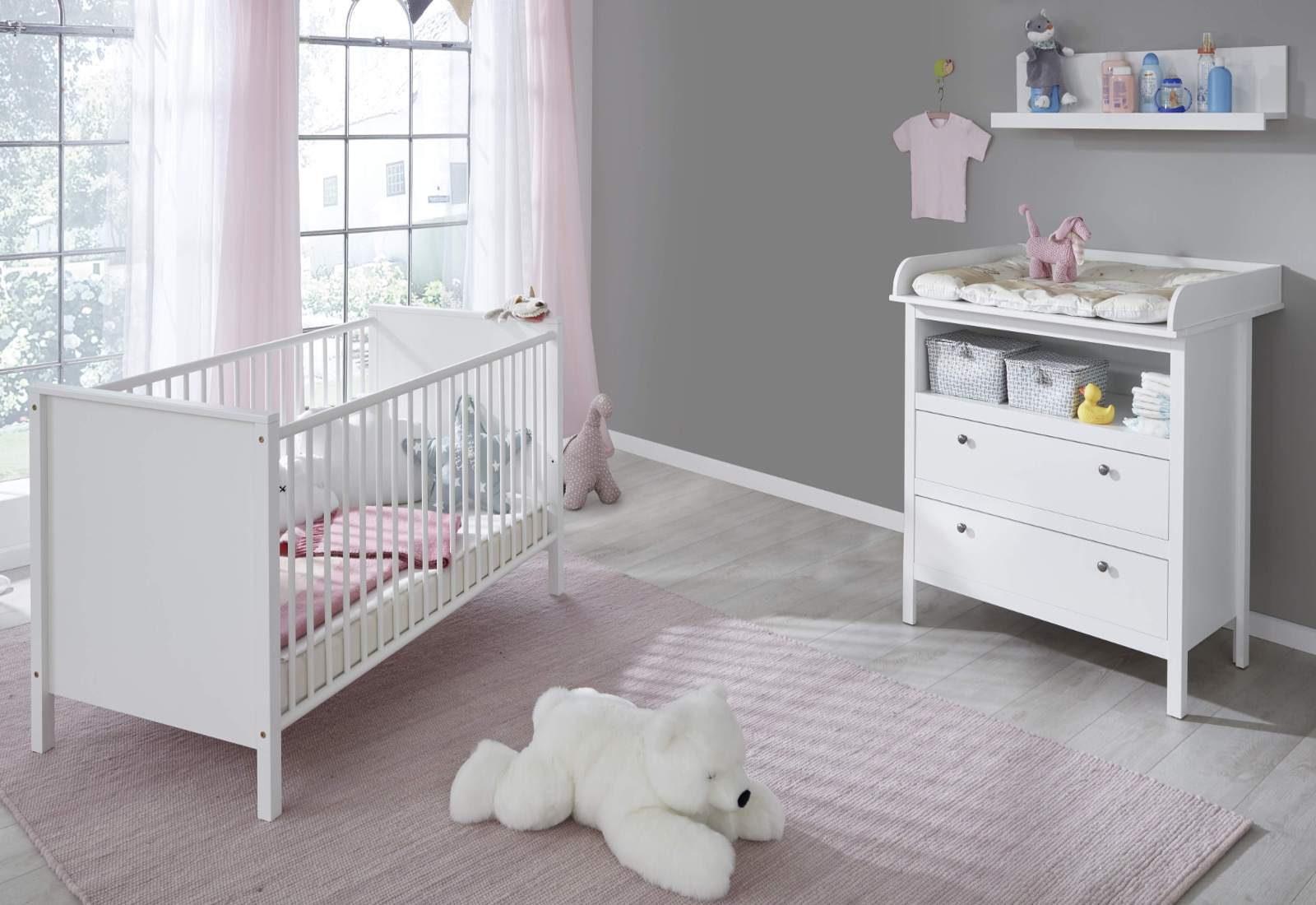 babyzimmer ole komplett set 3 teilig. Black Bedroom Furniture Sets. Home Design Ideas