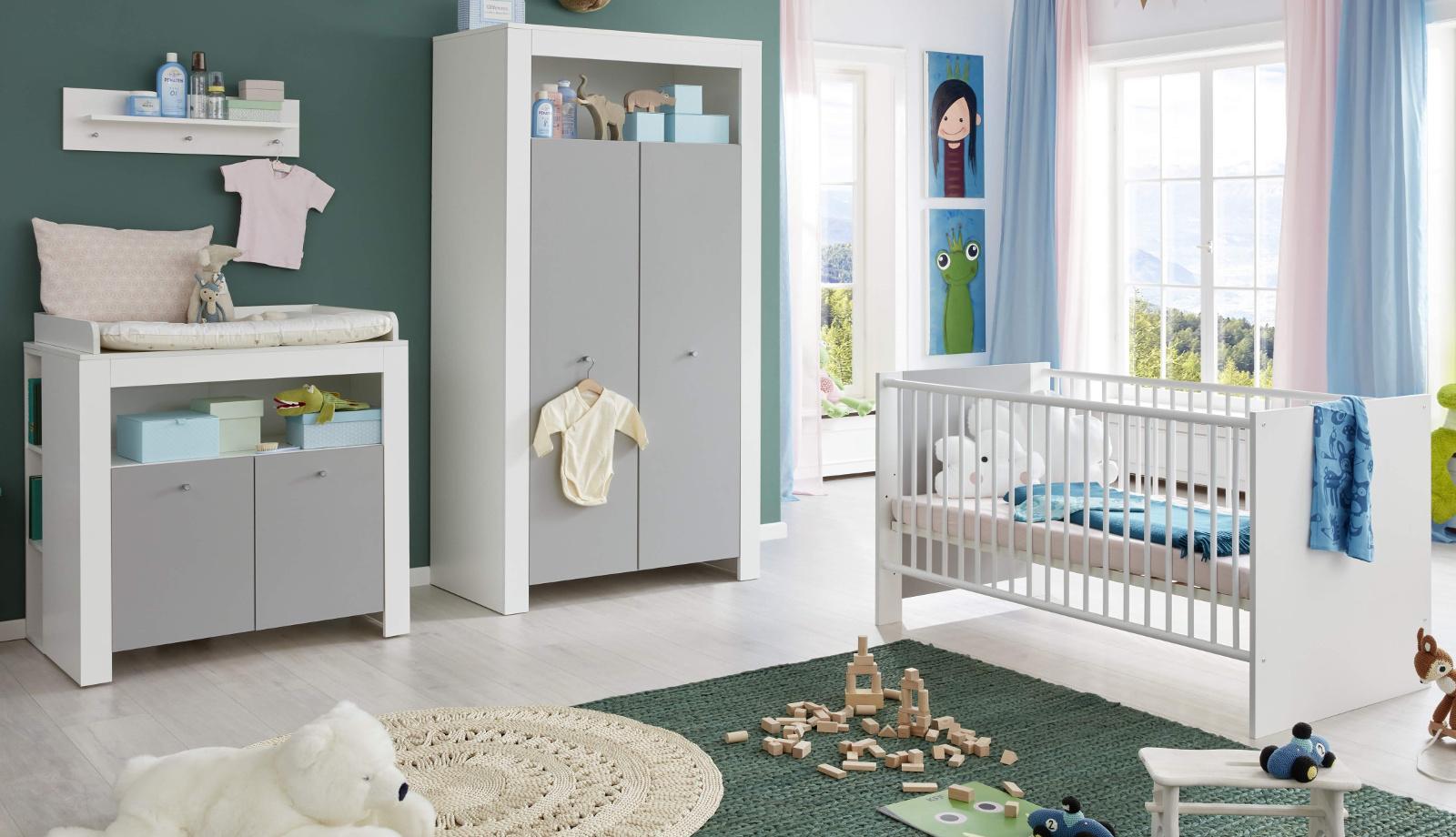 Babyzimmer Wilson komplett Set 3-teilig