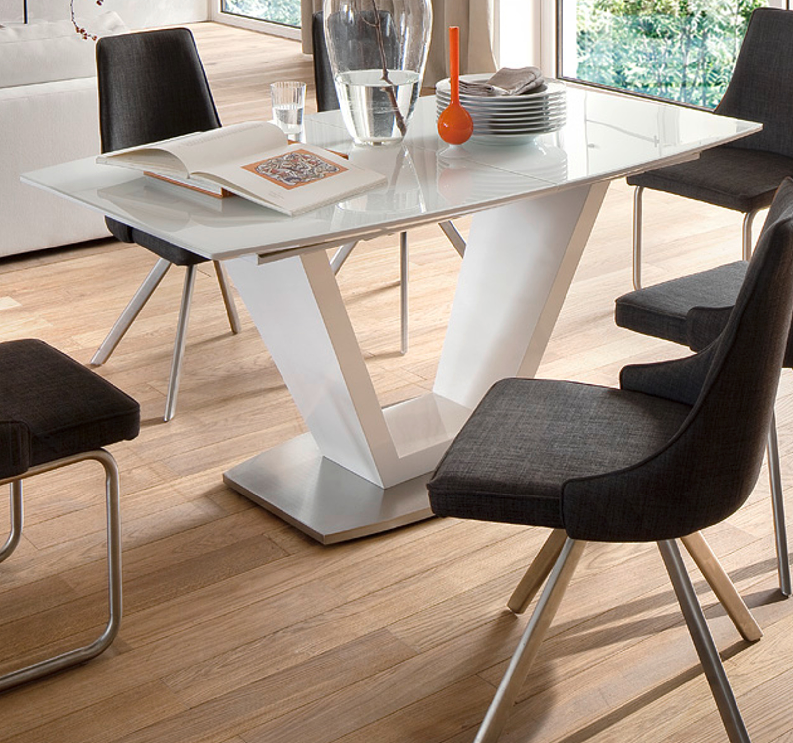 moderne b rom bel in kirschbaum. Black Bedroom Furniture Sets. Home Design Ideas
