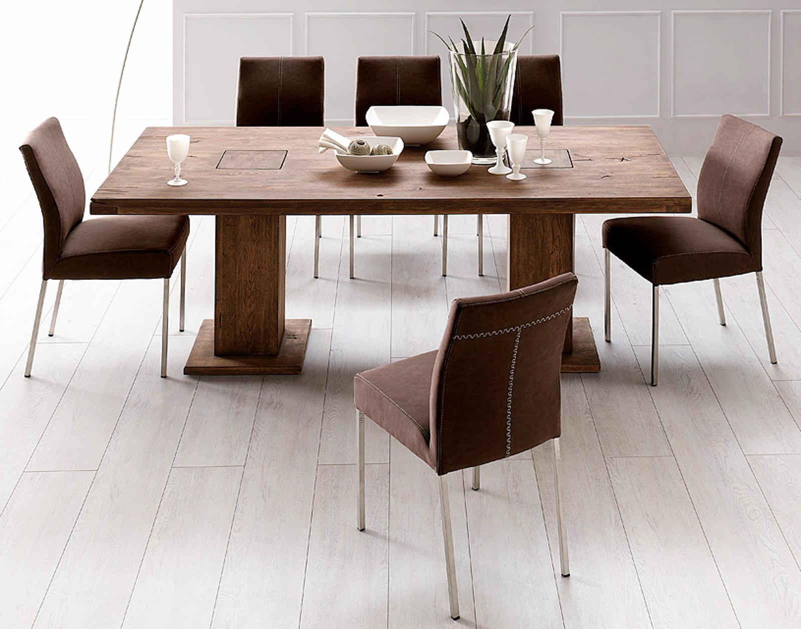 s ulentisch manchester eiche verwittert massiv 180 cm. Black Bedroom Furniture Sets. Home Design Ideas