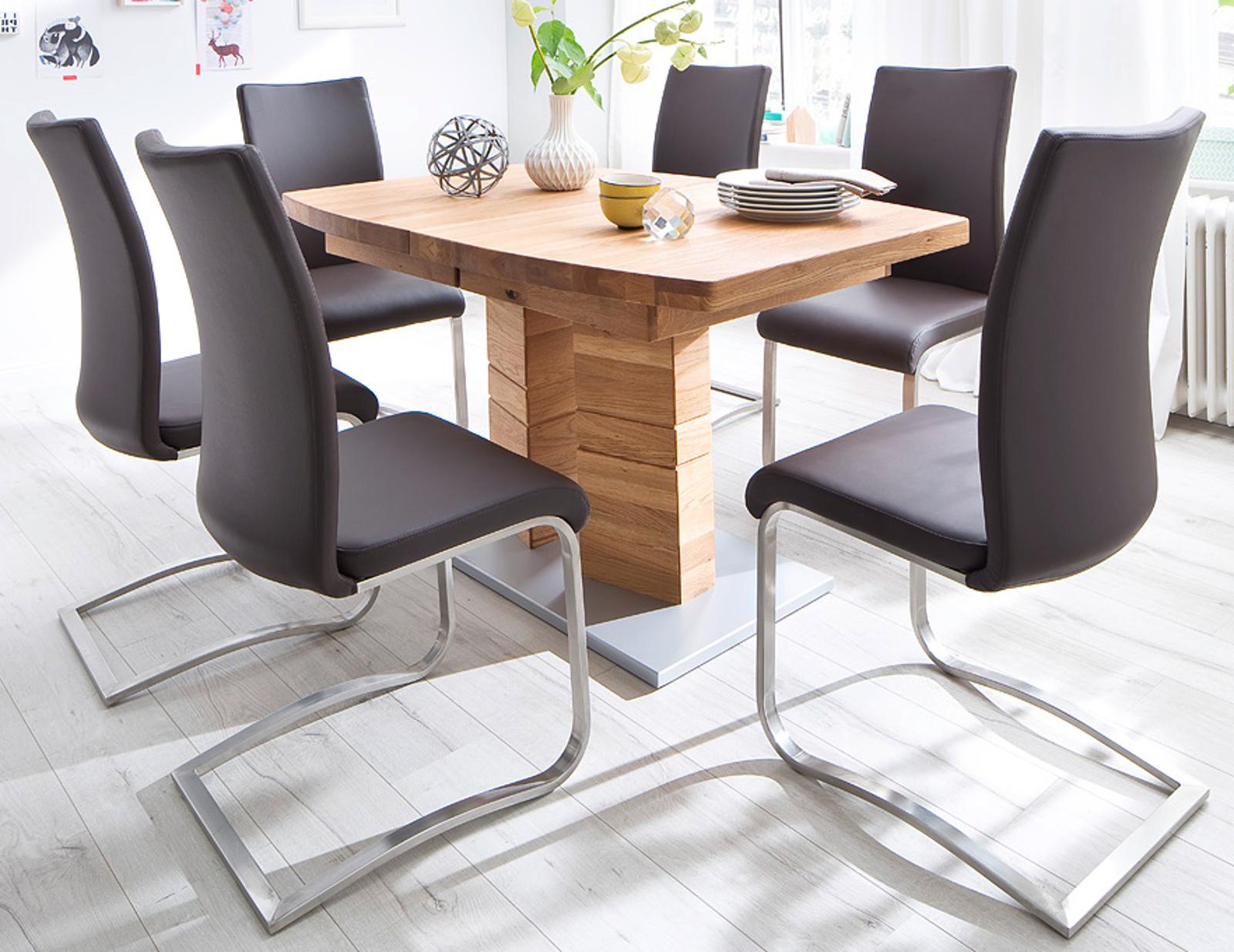 esstisch cuneo wildeiche massiv ge lt 140 cm. Black Bedroom Furniture Sets. Home Design Ideas
