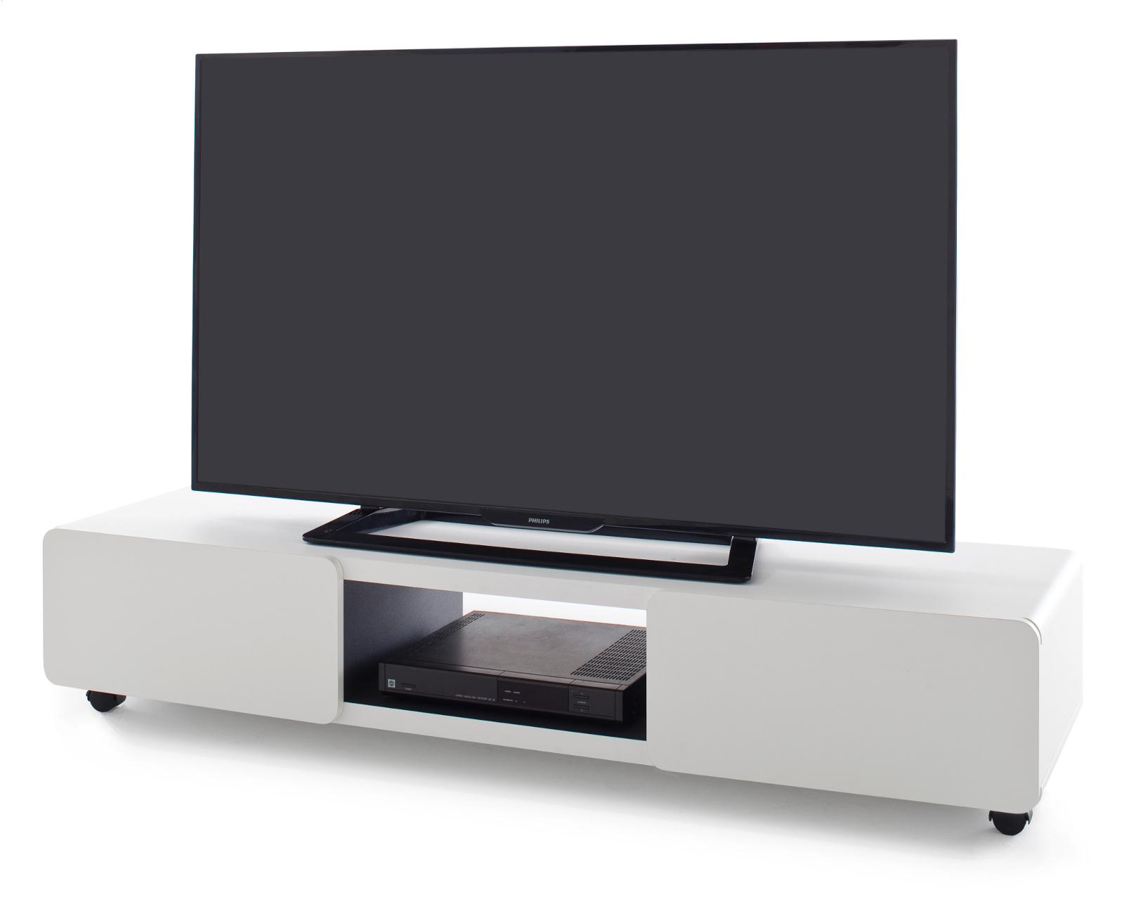 TV-Lowboard Jeff in weiß 140 cm