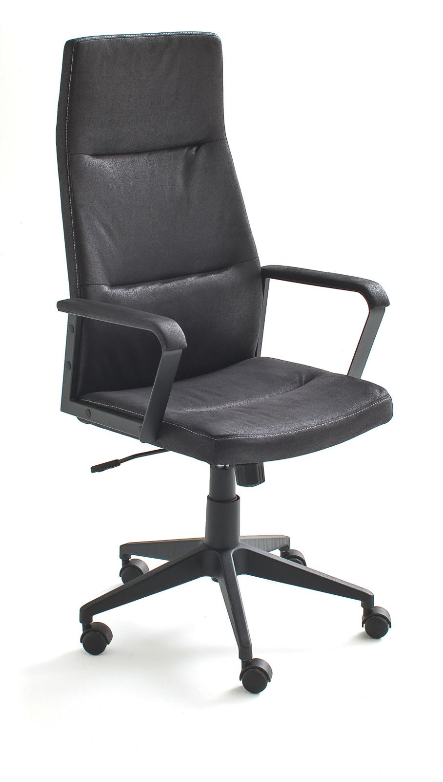 b rostuhl berno h schwarz bis 120 kg. Black Bedroom Furniture Sets. Home Design Ideas