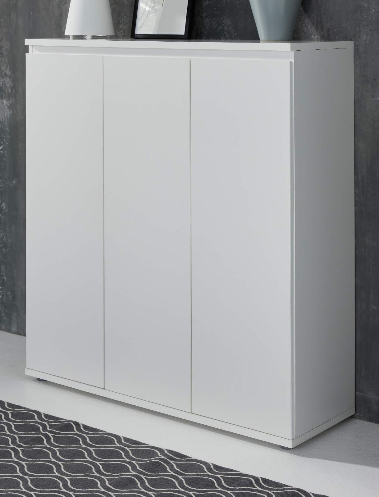 Kommode Basix In Weiß 100 Cm