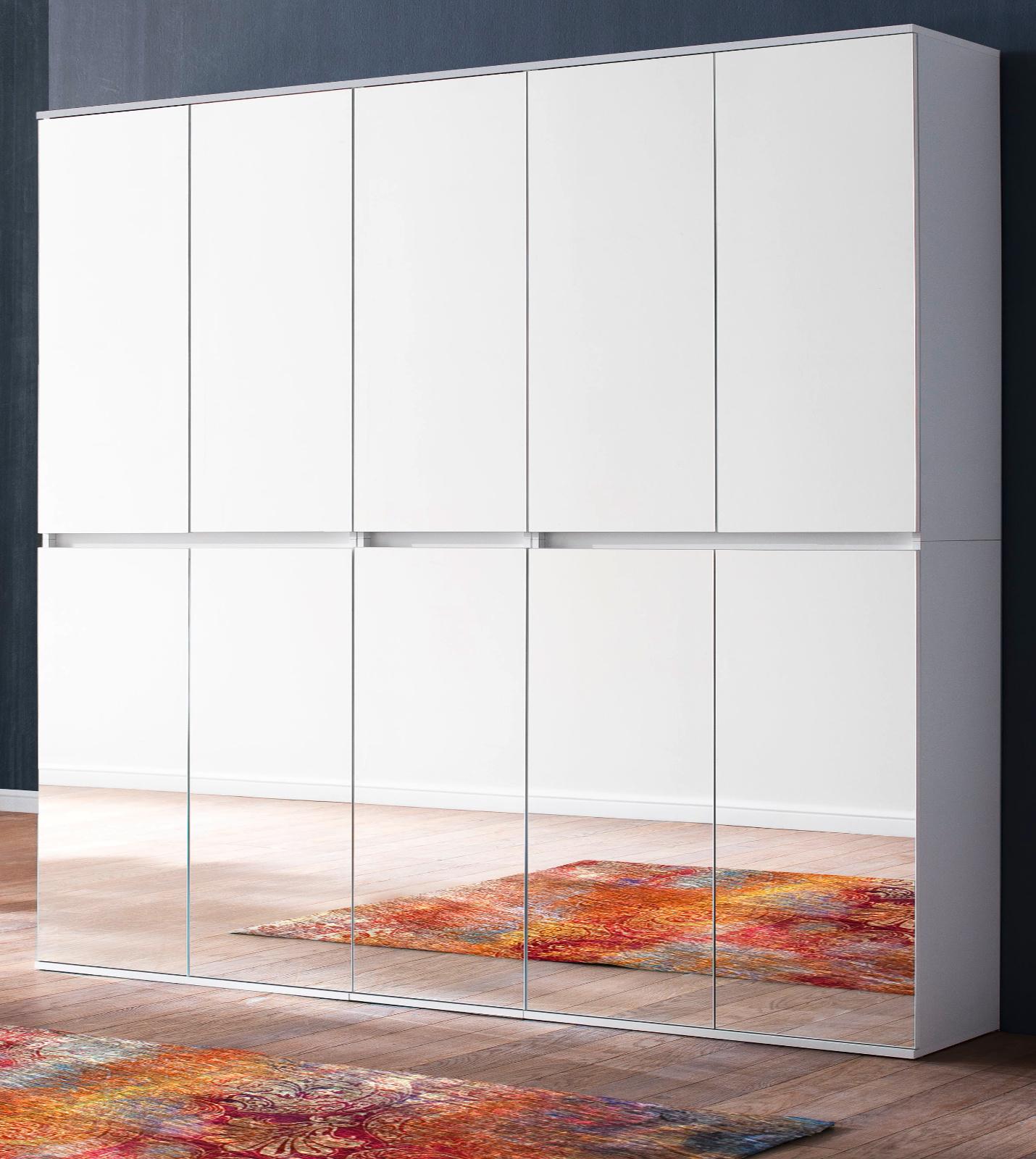 garderoben und schuhschrank mirror wei 185 cm
