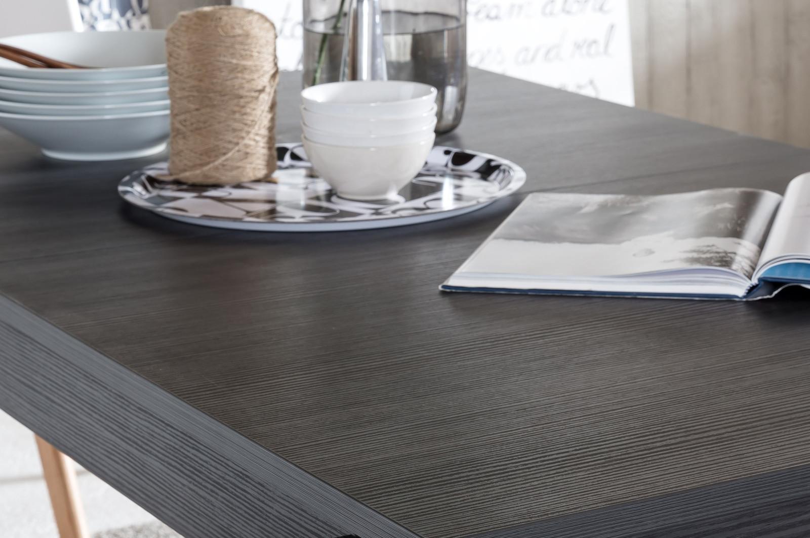 Esstisch Esche grau günstig online kaufen