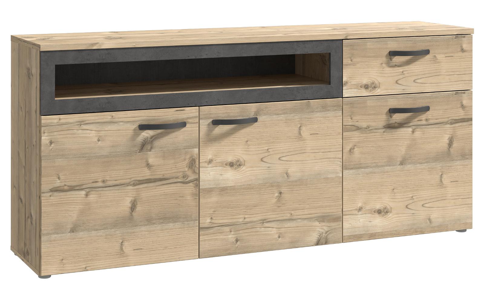 lowboard h ngend oder stehend hochglanz lack sospesa. Black Bedroom Furniture Sets. Home Design Ideas