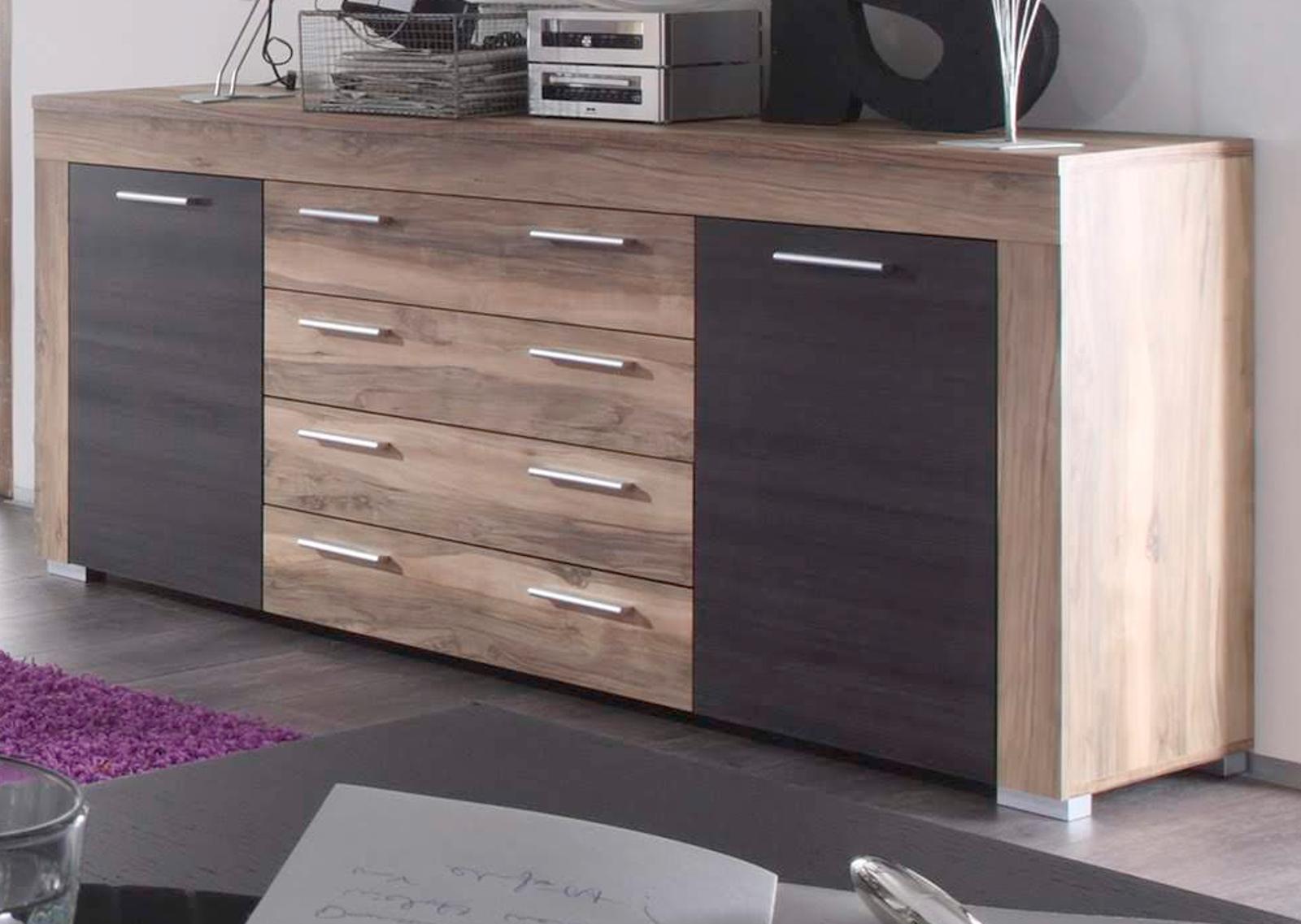 sideboard anrichte boom nussbaum satin touchwood, Gestaltungsideen