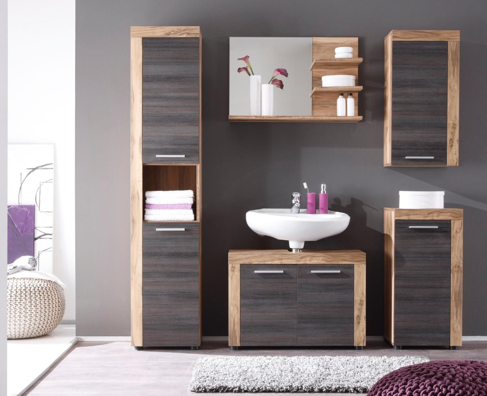 badschrank cancun nussbaum und touchwood. Black Bedroom Furniture Sets. Home Design Ideas