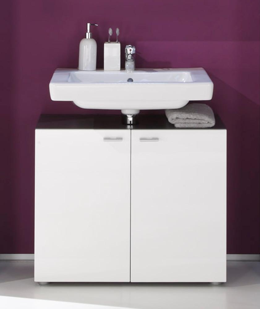 Waschbeckenunterschrank Tetis weiß günstig kaufen
