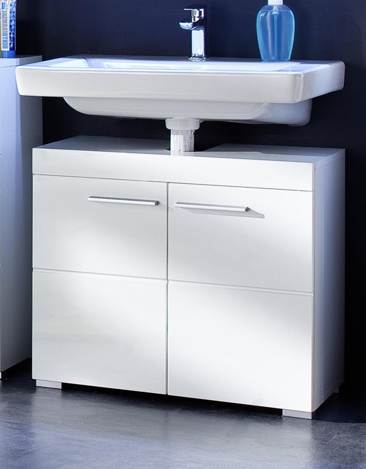 Waschbeckenunterschrank Weiß Gunstig : waschbeckenunterschrank amanda weiß günstig kaufen