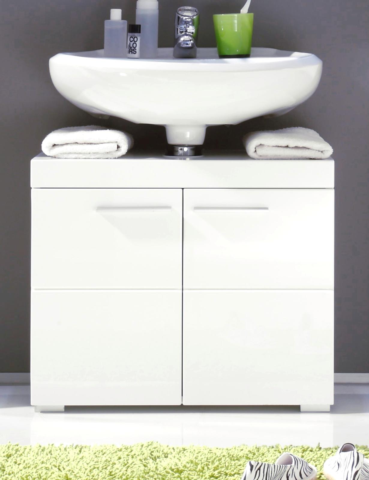 Waschbeckenunterschrank Amanda weiß günstig kaufen
