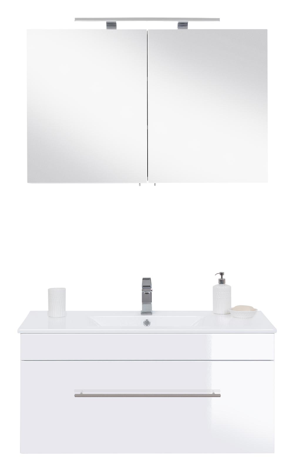h ngende wohnwand hochglanz lackiert echt aus italien fabrizio. Black Bedroom Furniture Sets. Home Design Ideas