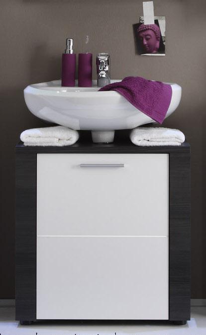 badezimmer xpress waschbeckenunterschrank esche grau wei kaufen