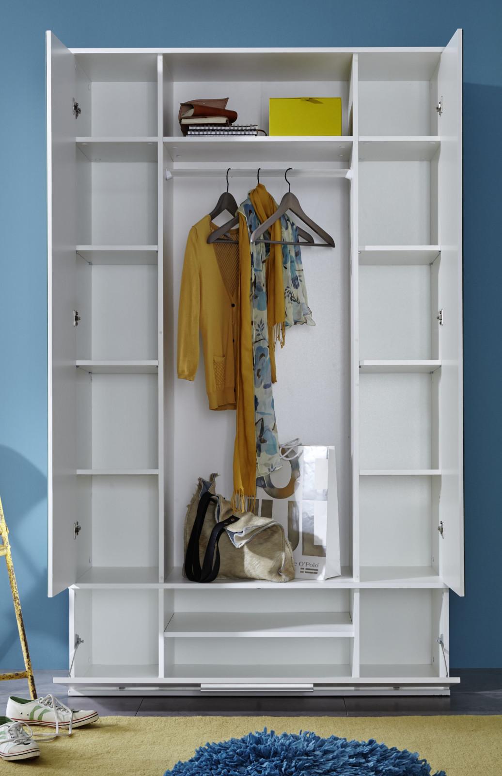 garderobe garderobenschrank ela wei. Black Bedroom Furniture Sets. Home Design Ideas