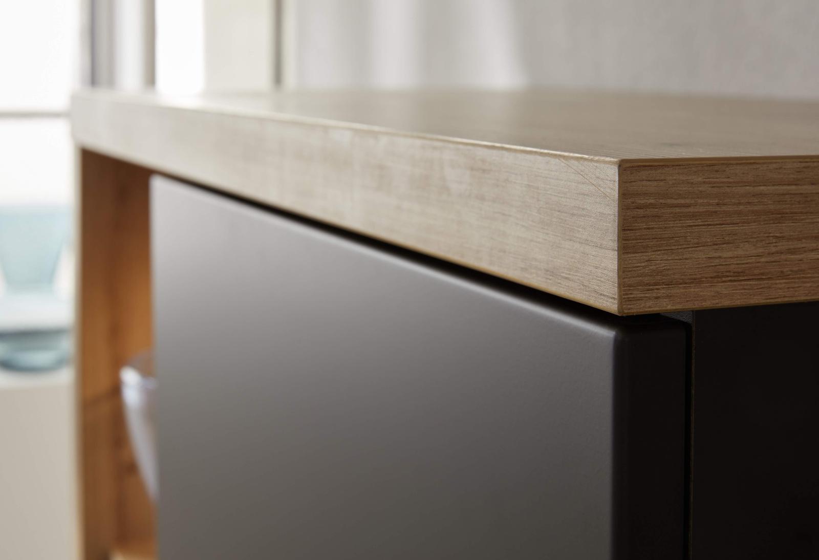 wohnwand vollmassiv wildeiche massivholz caramia. Black Bedroom Furniture Sets. Home Design Ideas