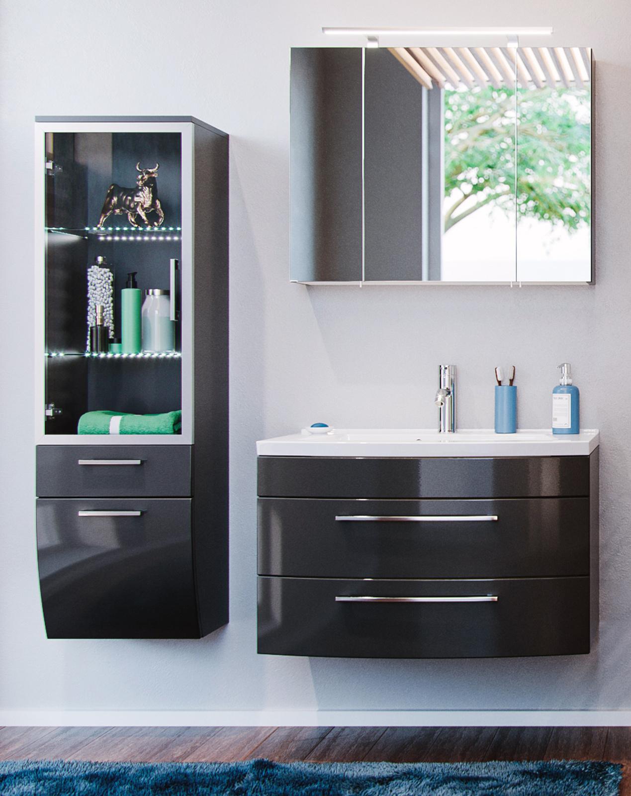 schlafzimmer komplett mit schwebet renschrank. Black Bedroom Furniture Sets. Home Design Ideas