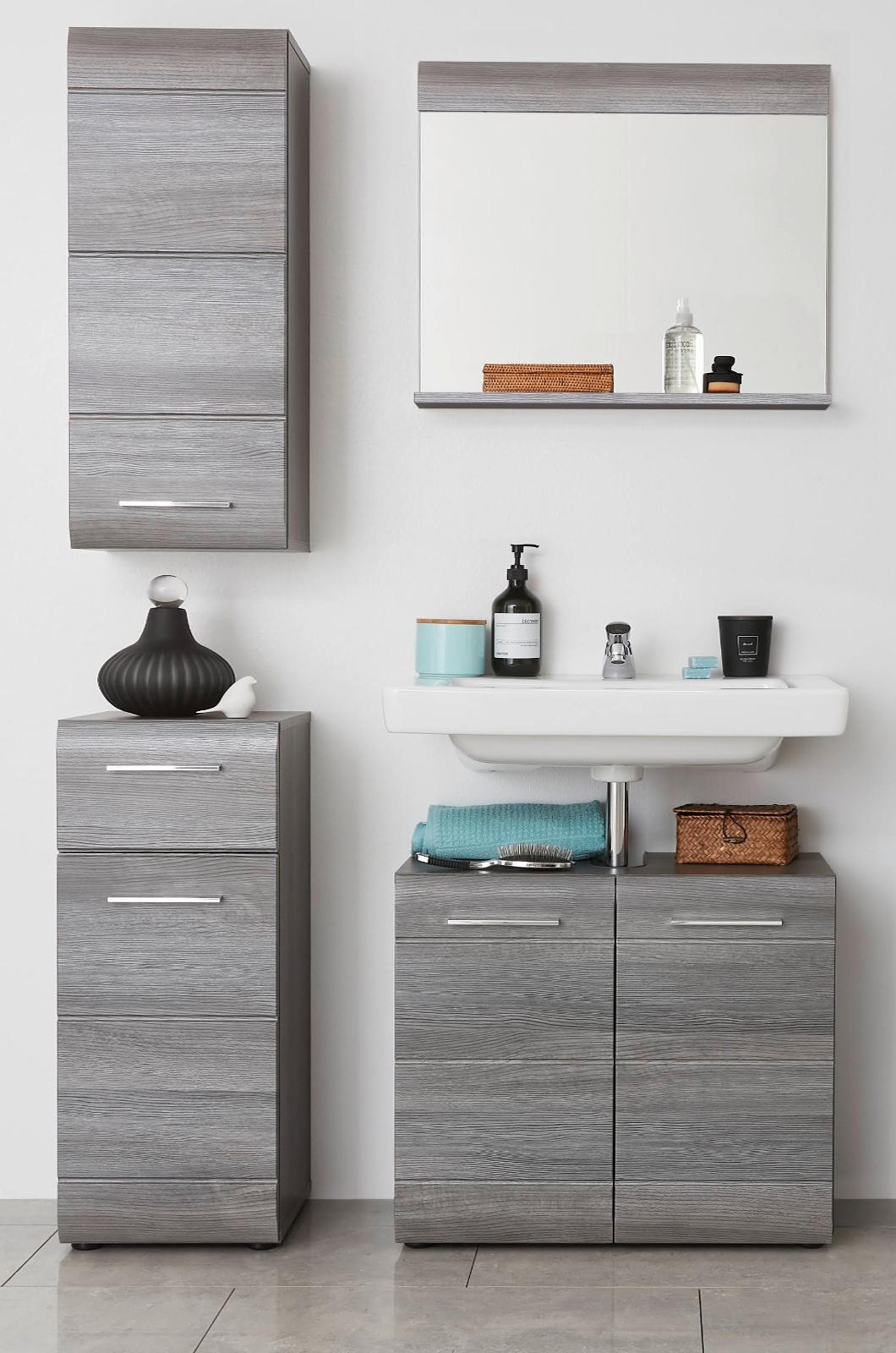sideboard anrichte aus italien in eiche sonoma melamin. Black Bedroom Furniture Sets. Home Design Ideas