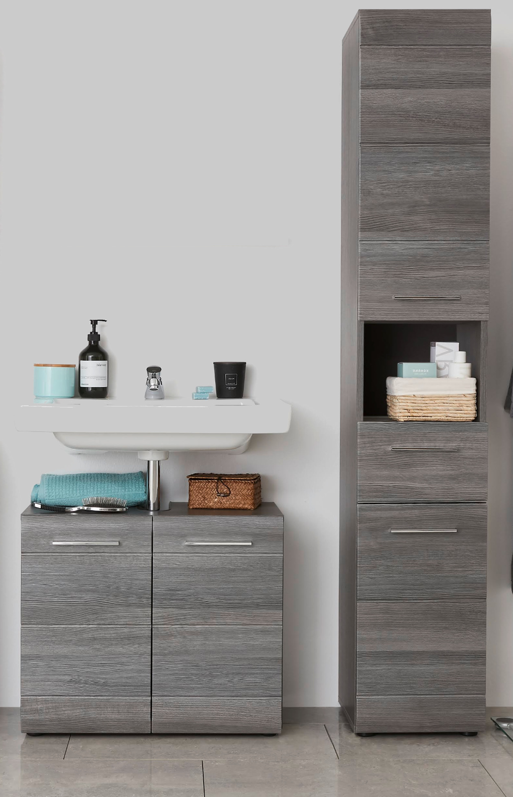 sideboard anrichte aus italien in eiche sonoma melamin designerm bel moderne m bel owl. Black Bedroom Furniture Sets. Home Design Ideas