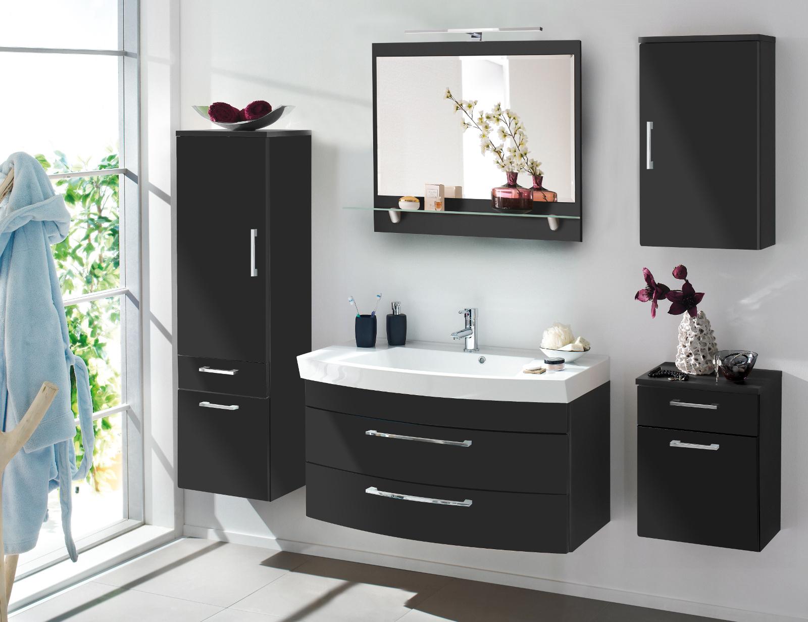 Wohnwand Anbauwand teilmassiv modern Pandaras2 - Designermöbel ...