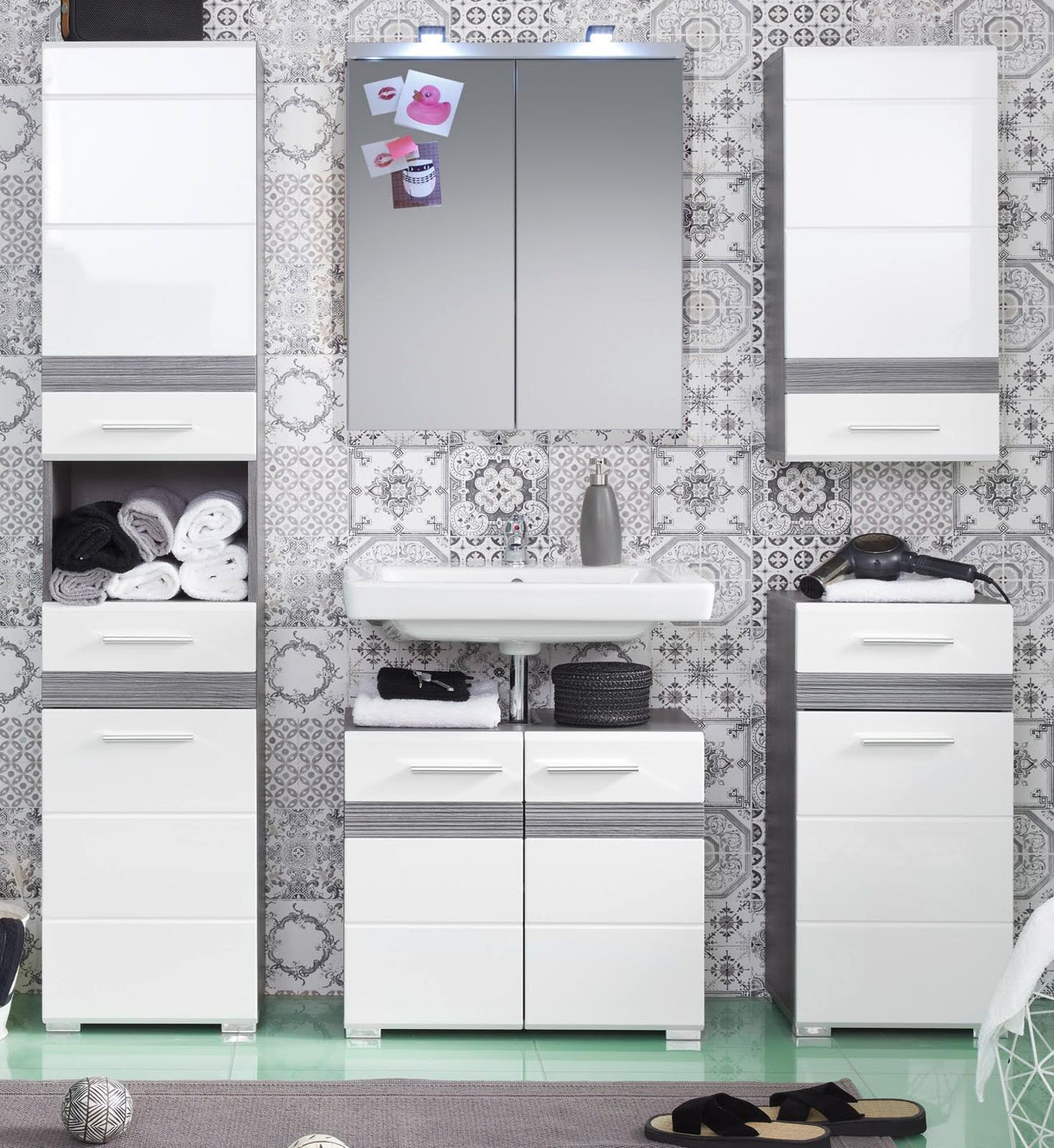 Kleiderschrank Eiche sägerau Dekor Emija3 - Designermöbel ...