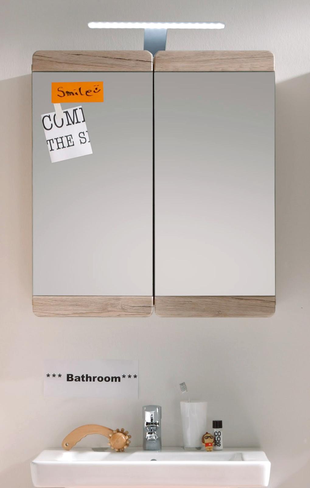badmöbel malea eiche sanremo günstig online kaufen, Badezimmer ideen