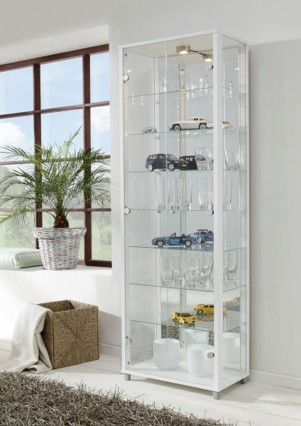 vitrine glasvitrine 2 t rig buche nachbildung. Black Bedroom Furniture Sets. Home Design Ideas