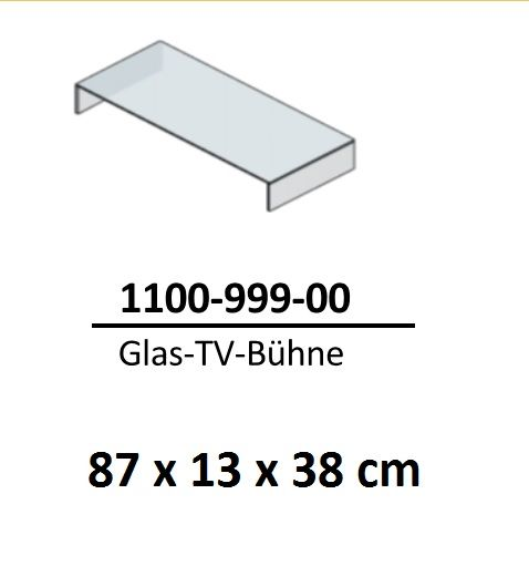glas tv b hne glaspodest tv bank f r tv lowboard und fernsehtisch 87 cm ebay. Black Bedroom Furniture Sets. Home Design Ideas
