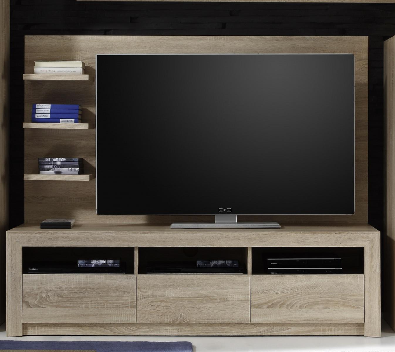 tv unterteil sevilla eiche sonoma hell. Black Bedroom Furniture Sets. Home Design Ideas