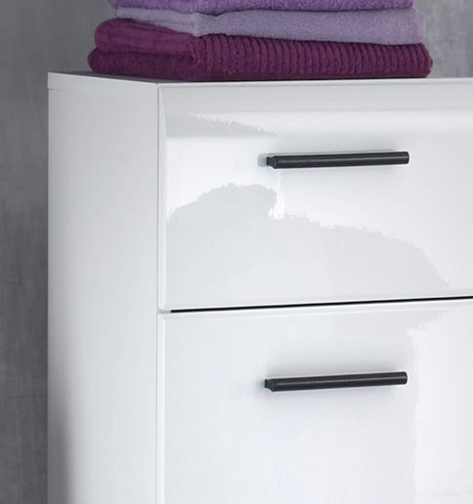 wandspiegel skin hochglanz wei. Black Bedroom Furniture Sets. Home Design Ideas