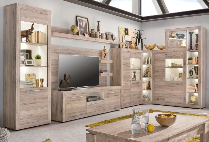 Image Result For Anbauwand Mit Sideboard