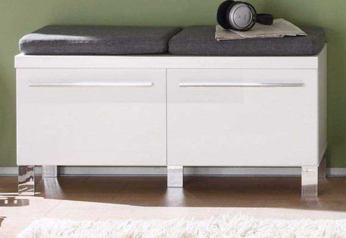 sitzbank weiss sonstige preisvergleiche. Black Bedroom Furniture Sets. Home Design Ideas