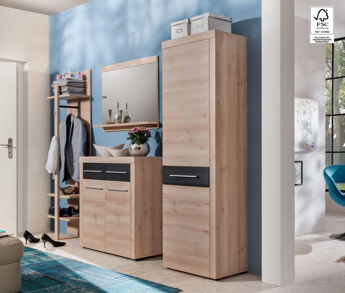 Garderobe set buche preisvergleiche erfahrungsberichte - Mobile guardaroba ingresso ...