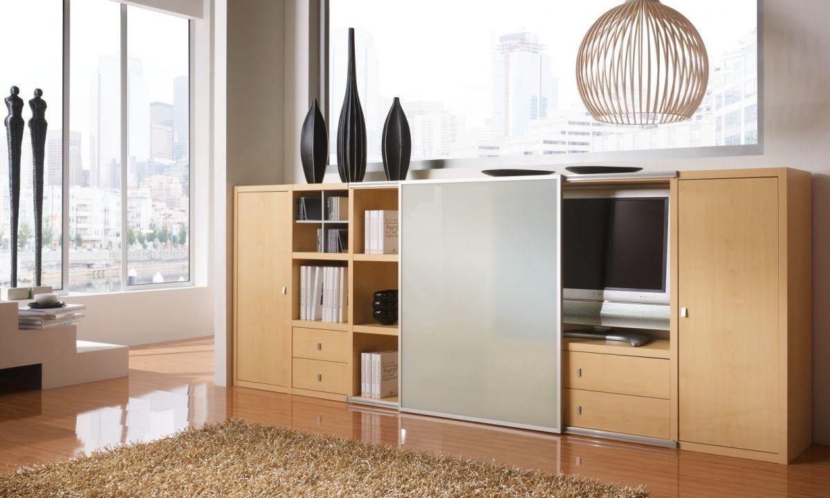 schlafzimmerschrank mit tv fach. Black Bedroom Furniture Sets. Home Design Ideas