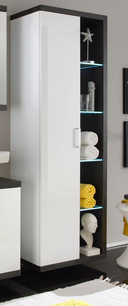 bad hochschrank weiss hochglanz preisvergleiche erfahrungsberichte und kauf bei nextag. Black Bedroom Furniture Sets. Home Design Ideas
