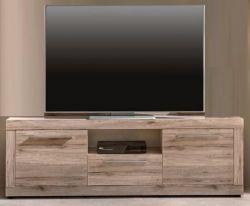 TV-Unterteil Lowboard Passat Eiche Sand 180 x 57 cm Fernsehtisch Sandeiche