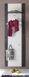 Garderobe Garderobenpaneel Xpress Esche grau/weiß