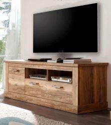 TV-Unterteil Lowboard Montreal Nussbaum satin 186 x 61 cm